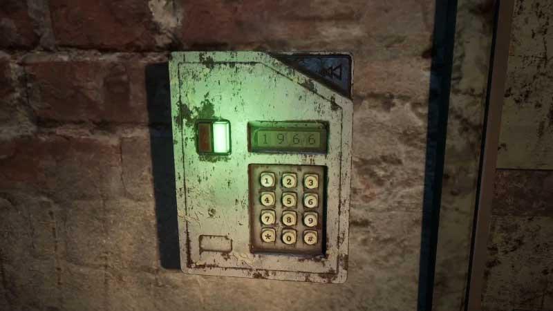 The Medium Secret Door Combination Code