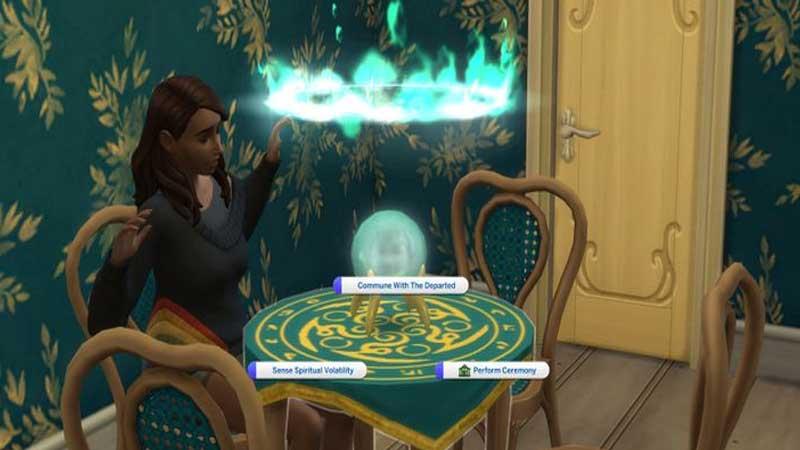 The Sims 4 Paranormal Stuff Medium Skill
