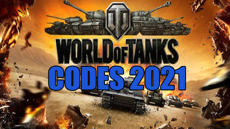 World Of Tanks Codes 2021