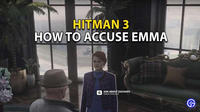 accusing emma hitman 3
