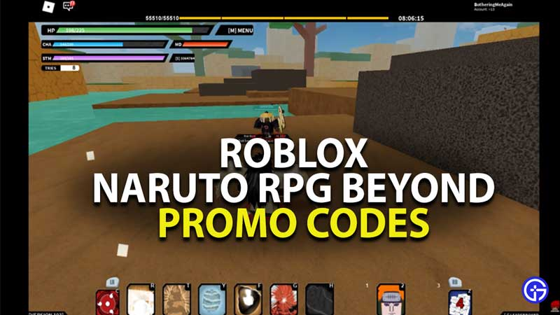 all roblox naruto rpg beyond promo codes