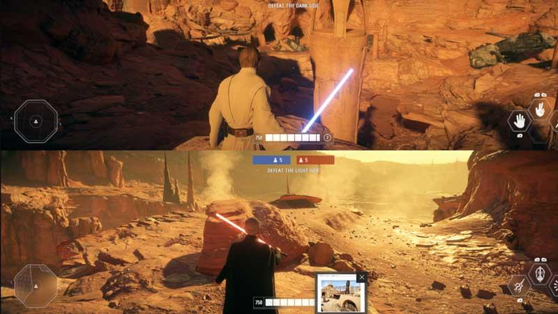 Battlefront 2 Split Screen Mod