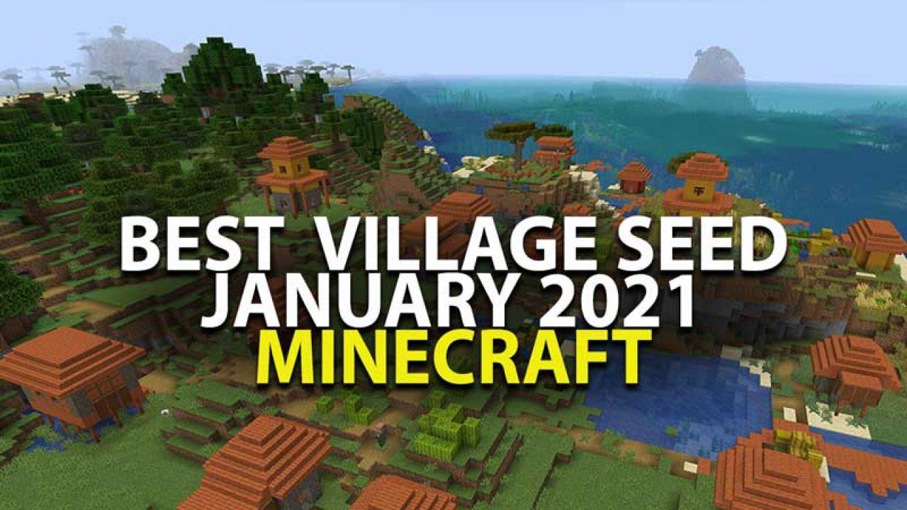 Minecraft: Best Minecraft Village Seed (Jan 12) Guide