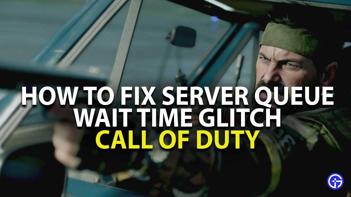 How to Fix COD Server Queue Bugs