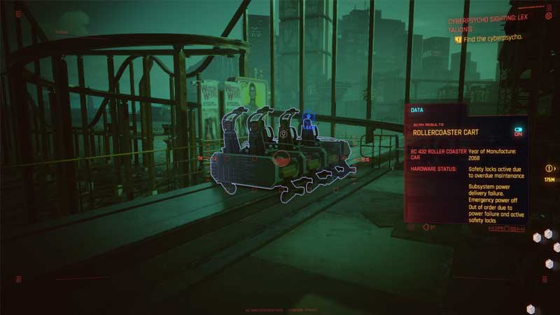 How To Ride The Rollercoaster In Cyberpunk 2077