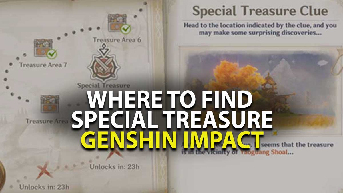 Genshin Impact Secret Treasure