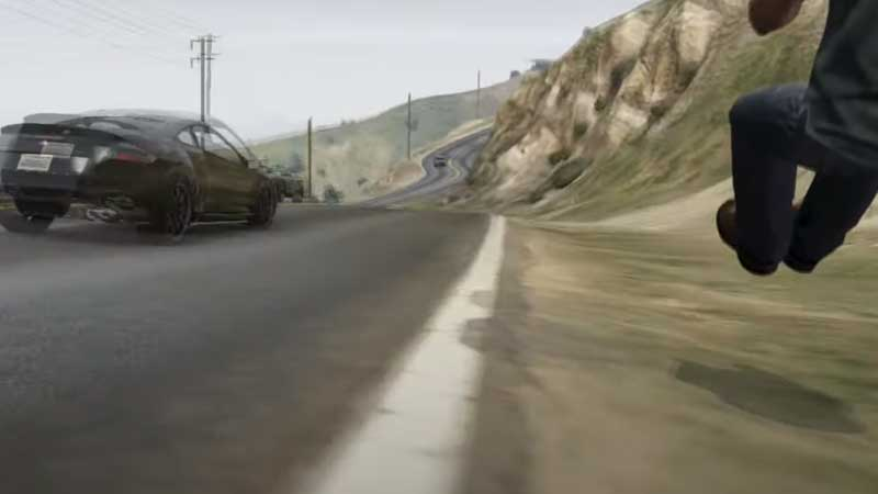 GTA 5 Invisible Car Glitch