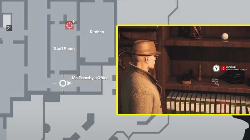 Dartmoor Mansion Master Key