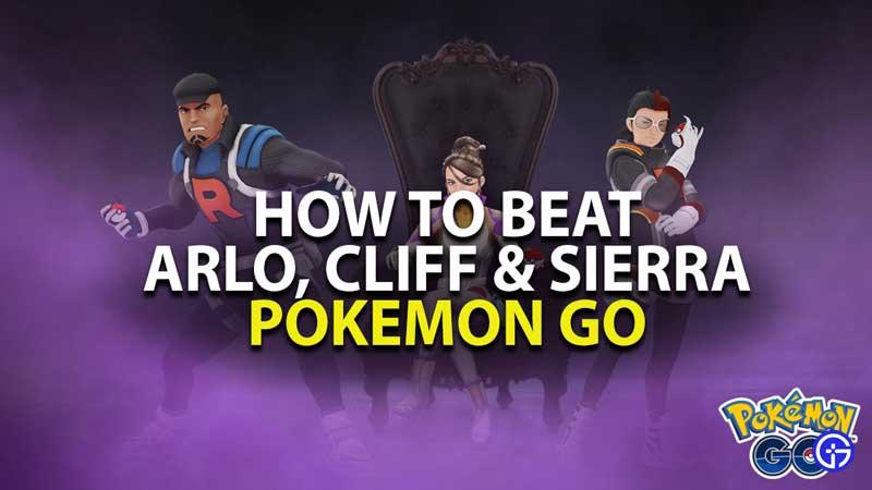 how to beat team go rocket leaders in pokemon go