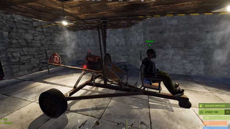 How to fly in Rust?