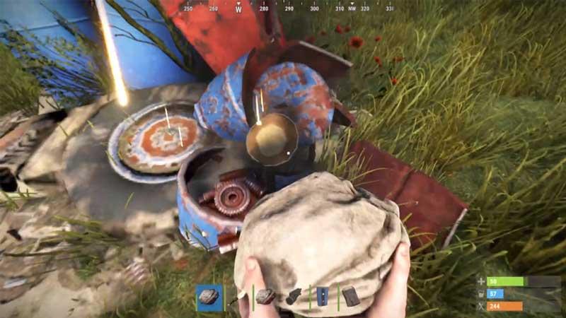 How to get Scrap in Rust?
