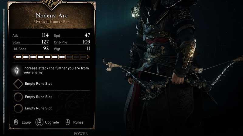 how to get nodens arc isu bow