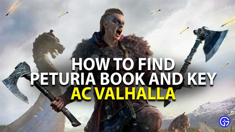 how to get peturia book key in assassins creed valhalla
