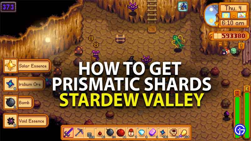 how to get prismatic shards in stardew valley