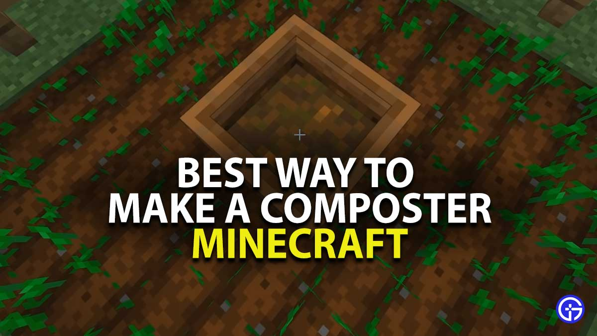 Minecraft Composter Guide