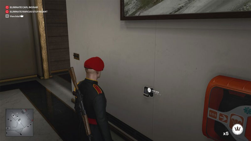 how to trigger an evacuation in hitman 3