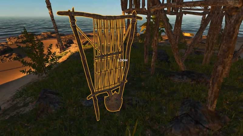 how to use loom in stranded deep