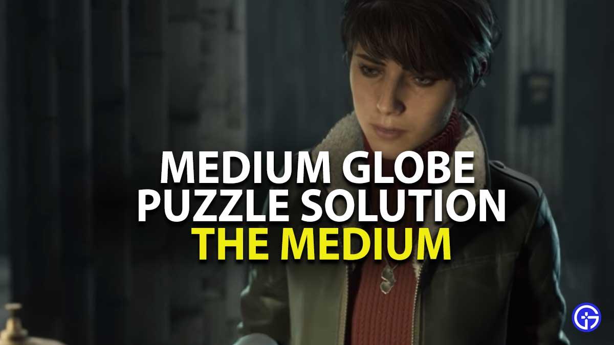 The Medium Globe Puzzle Solution