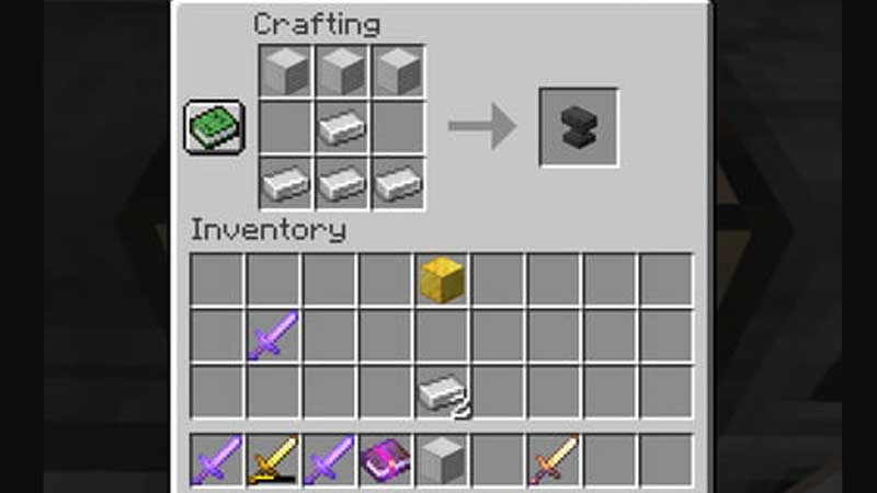 How to Craft Anvil in Minecraft