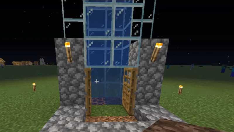 Minecraft Water Elevator Guide
