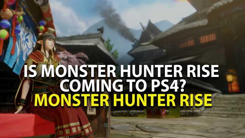 Monster Hunter Rising PS4
