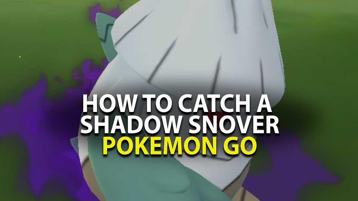Pokemon Go Catch Snover