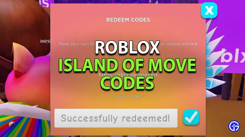 Roblox Island Of Move Codes (June 2021) Build It Play It