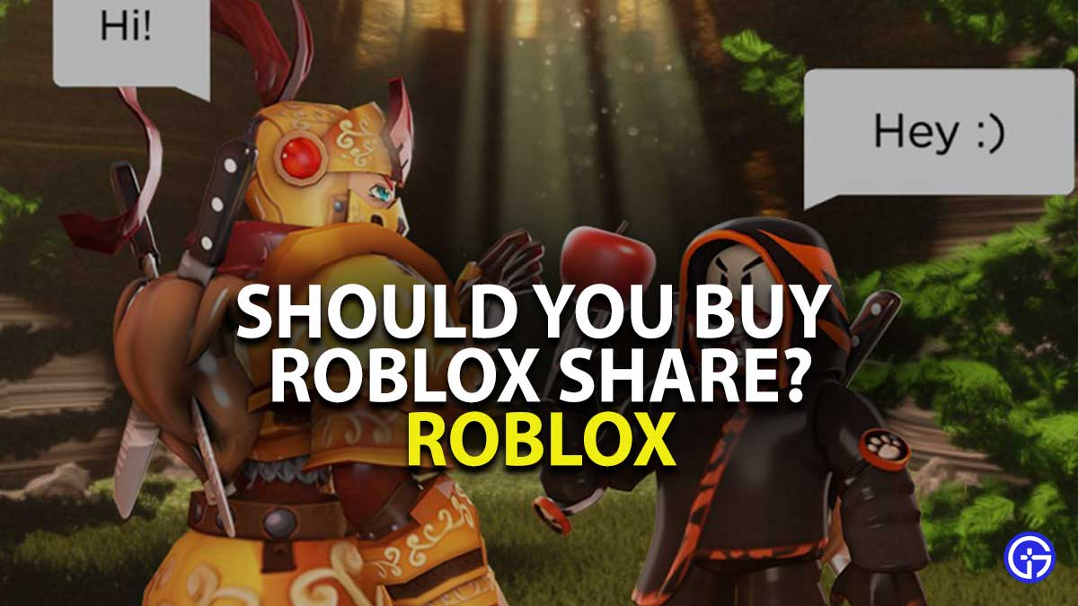 Roblox Share Listing Details