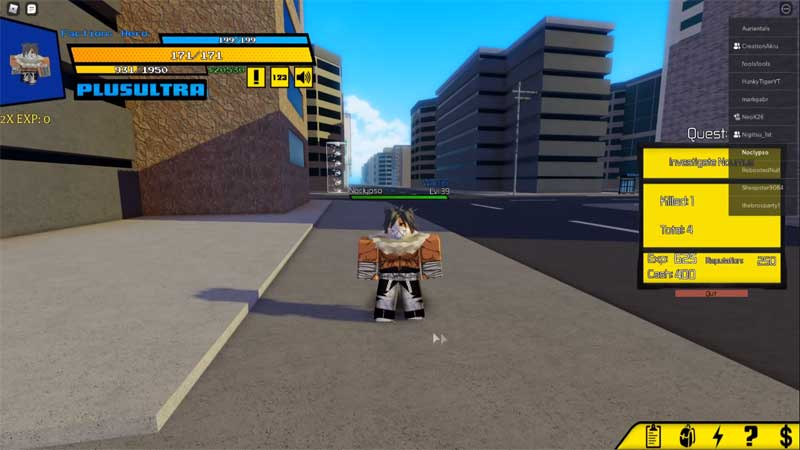 Roblox Heroes Academia Codes January 2021