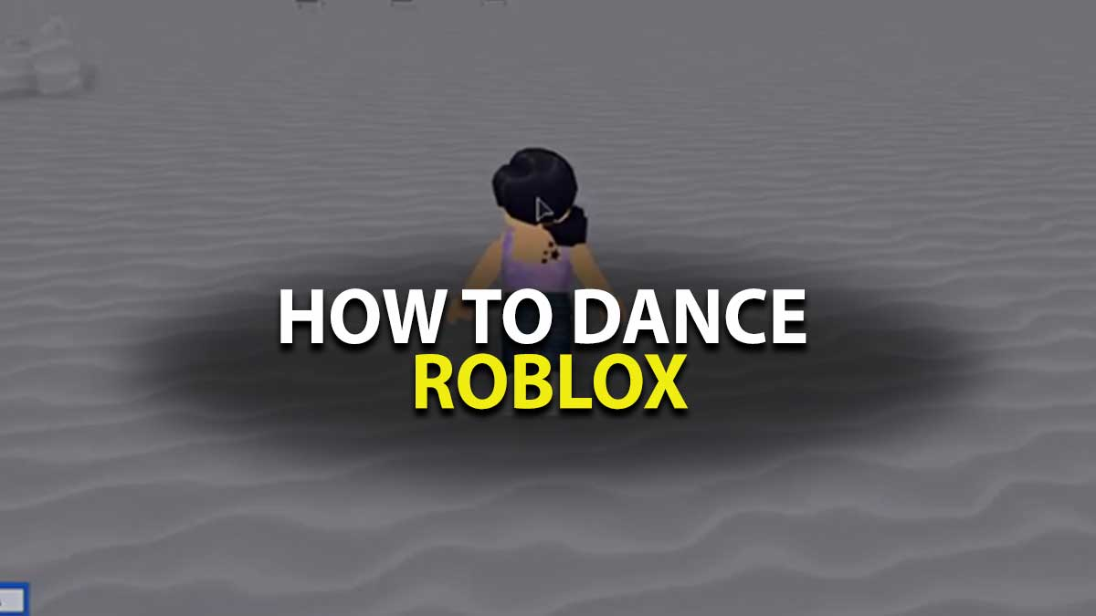 Roblox How to Use Dance Emotes