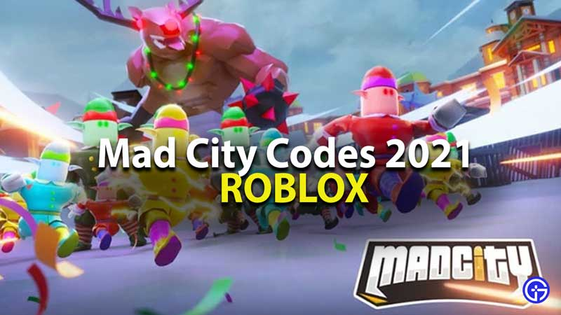 Roblox Mad City Codes January 2021