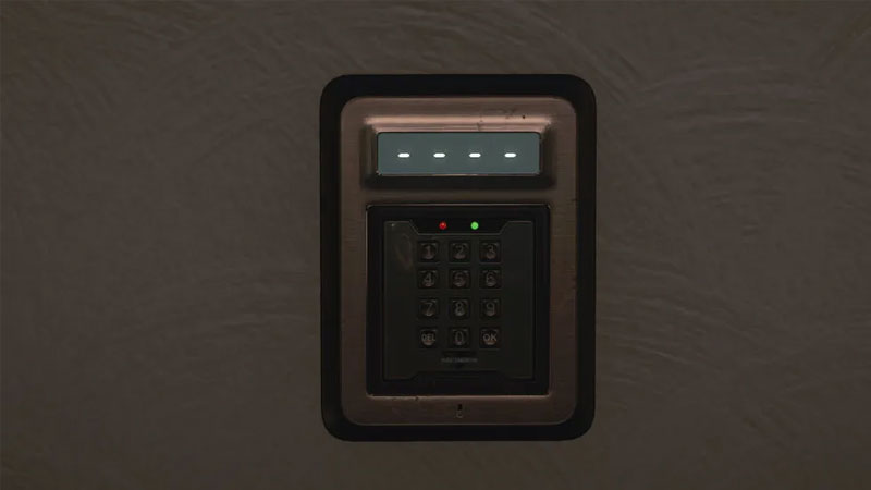 what is the key code for staff in dubai in hitman 3