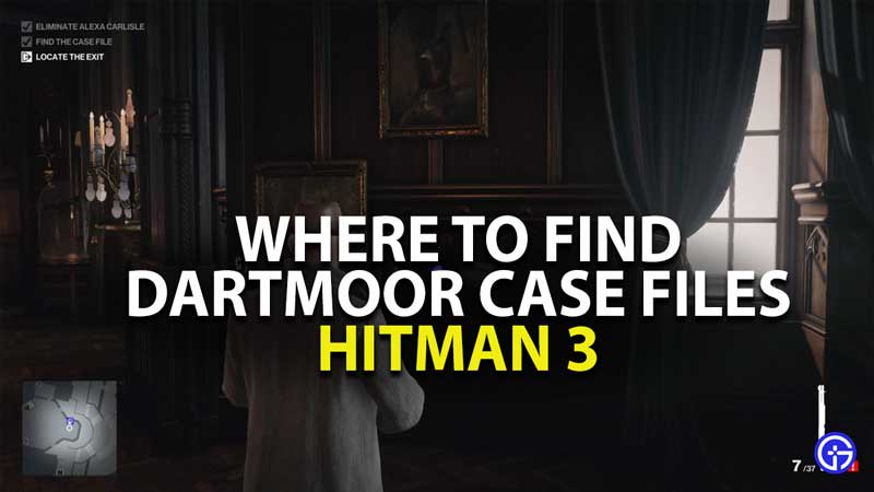 where to find dartmoor case files in hitman 3