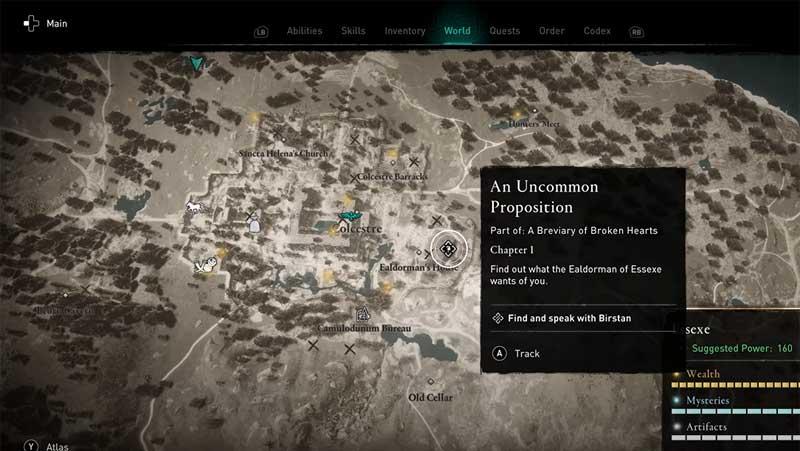 AC Valhalla Uncommon Proposition Quest Guide