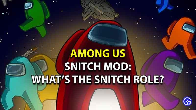 Among Us Snitch Mod