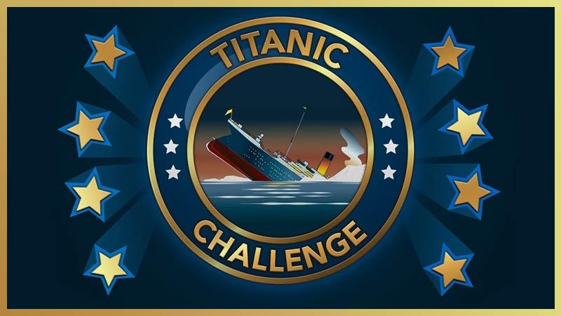 Bitlife Titanic Challenge