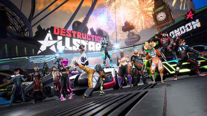 Customize Characte in Destruction AllStars
