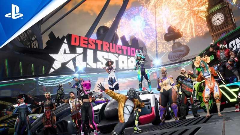 Destruction AllStars Splitscreen Local Multiplayer