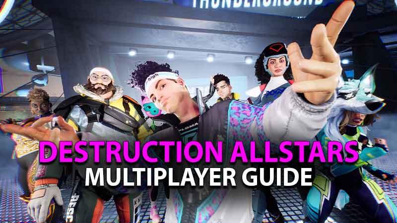 Destruction Allstars Multiplayer