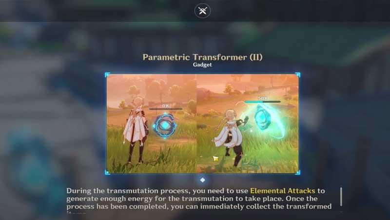 Parametric Transformer Genshin IMpact Guide