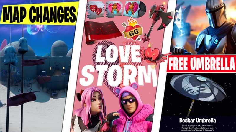 Fortnite Valentine Day 2021 event