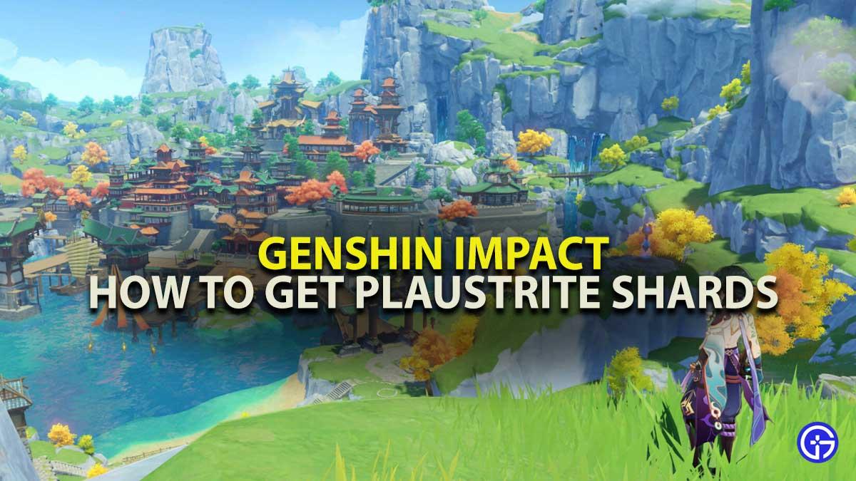 Genshin Impact Plaustrite Shards