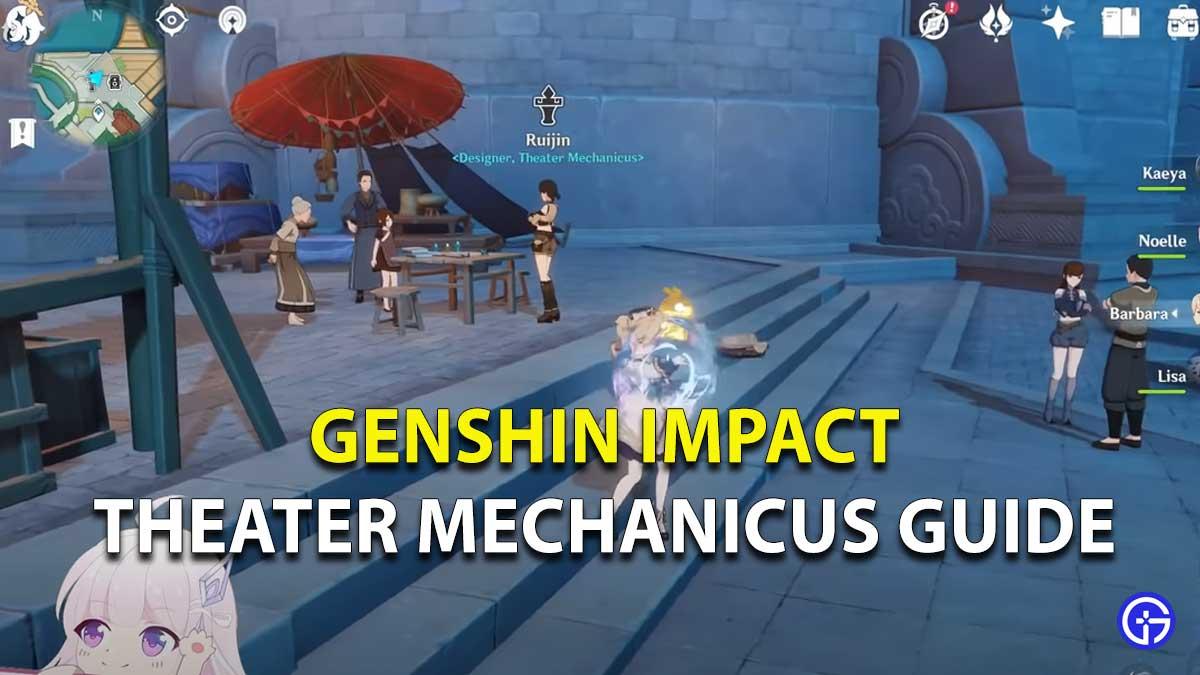 Genshin Impact Theater Mechanicus