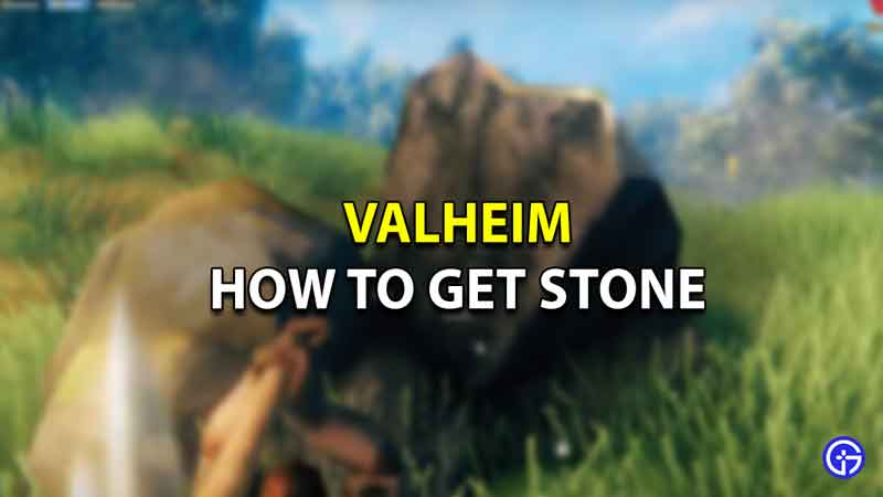 How To Get Stone in Valheim