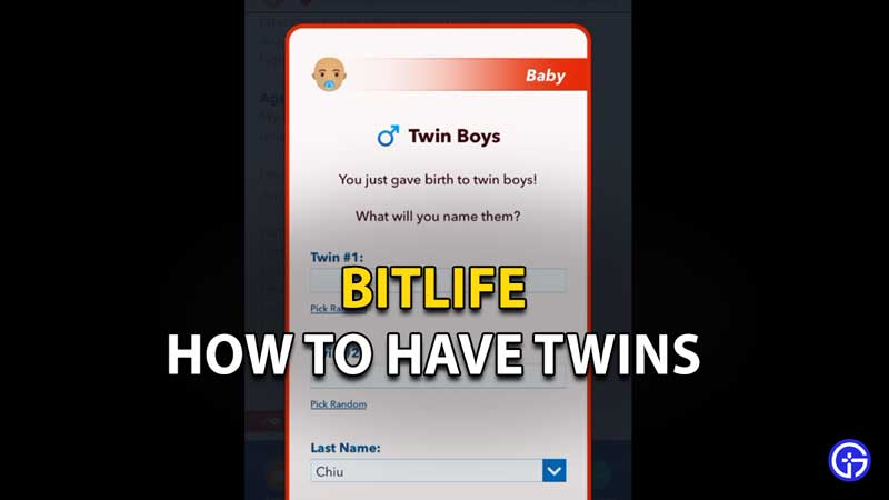How To Have Twins In Bitlife