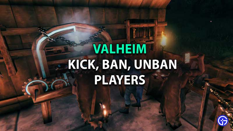 how to kick ban and unban players valheim