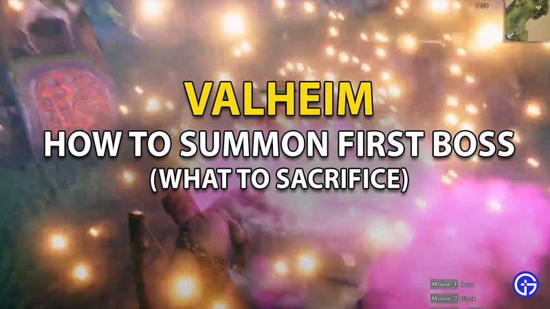 How To Summon First Boss In Valheim