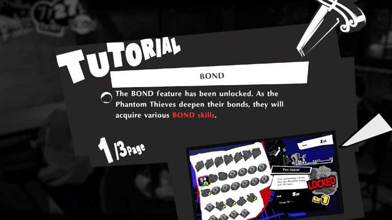 Infinite Bond Experience Persona 5 Strikers