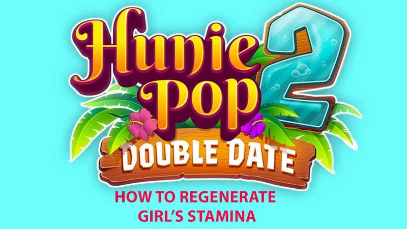 HuniePop 2 Girls Stamina Guide