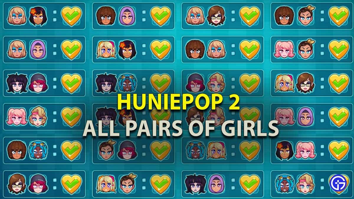 HuniePop 2 Pair Of Girls Guide